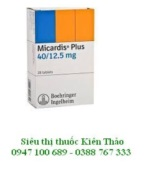 Micardis plus 40/12.5 mg